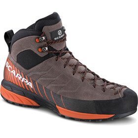 Scarpa M's Mescalito Mid GTX Shoes charcoal/dark tonic